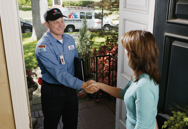 in-home estimate from San Antonio Air Service Experts Heating & Air Conditioning